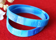 China PMS Matching Rubber Support Bracelets Depressed Logo Process Waterproof factory