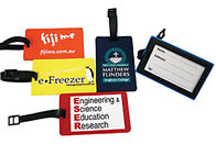 Custom Printed Plastic Luggage Tags , Plastic Luggage Labels Stamping Process