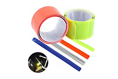 China Top Grade PVC Reflective Slap Bands Glow In The Dark Featuring Long Lifetime distributor